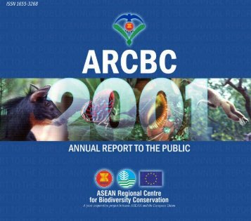 Annual Report to the Public 2001 - ASEAN Regional Centre for ...