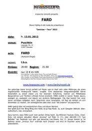 FARD - Krasscore