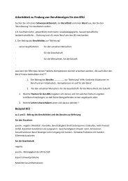 Arbeitsblatt zu Findung von Berufsbezügen für den BRU ... - T-Online
