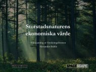 Presentation - TMR - Stockholms läns landsting