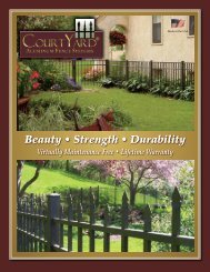 CourtYard Brochure - Digger Specialties, Inc.