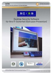 sc/os - Jungmann Systemtechnik