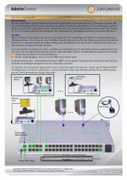 AdminCenter - Jungmann Systemtechnik