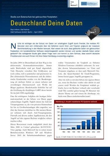 Deutschland Deine Daten N - O&O Software
