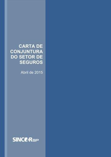 Carta de Conjuntura - Abril 2015