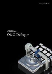 O&O Defrag 17 Handbuch - O&O Software