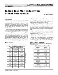ndian Iron Ore Industry in Global Perspective - Steelworld