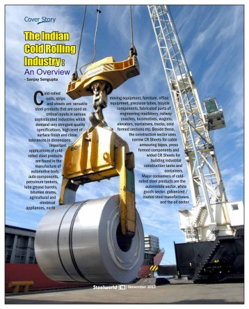The Indian Cold Rolling Industry - Steelworld