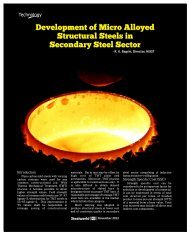 Development of Micro Alloyed Structural Steels - Steelworld