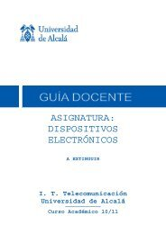 asignatura: dispositivos electrónicos - Departamento de Electrónica