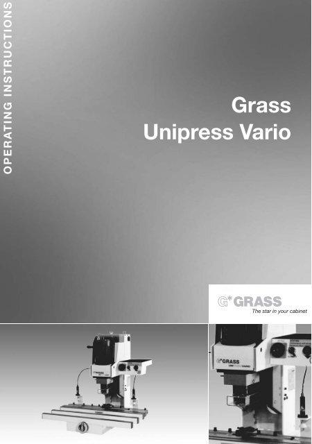 Unipress Vario E.qxd:Unipress Vario E.qxd