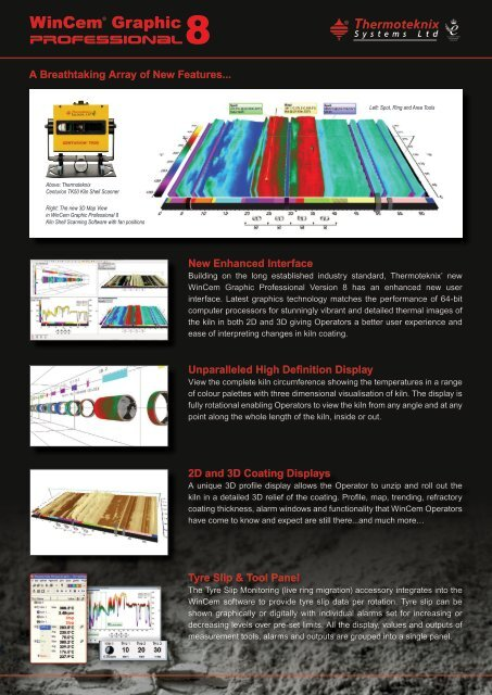 Centurion WinCem Cement Kiln Visualisation System