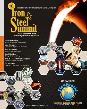 Chandekar Business Media Pvt. Ltd. - Steelworld
