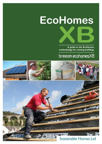 A Guide to Ecohomes XB - Sustainable Homes