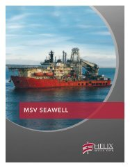MSV Seawell - Helix Energy Solutions