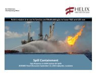 Company Update Company Update - Helix Energy Solutions
