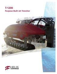Purpose Built Jet Trencher