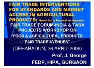 (DEHARADUN, 26 APRIL 2006) Prof. J. George FEDP, HIPA ...