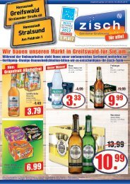 Zisch Handzettel KW17/2015 Greifswald und Stralsund