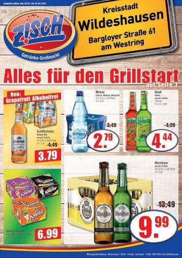 Zisch Handzettel KW17/2015 Wildeshausen