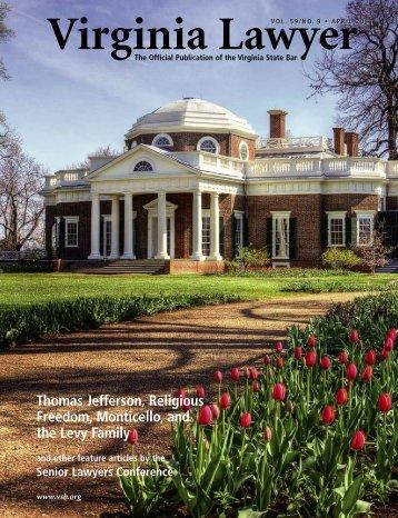 Thomas Jefferson, Religious Freedom ... - Virginia State Bar