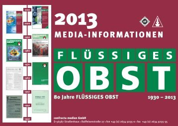 Media-Informationen - Flüssiges Obst