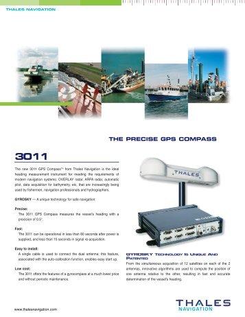 THE PRECISE GPS COMPASS - GeoSense