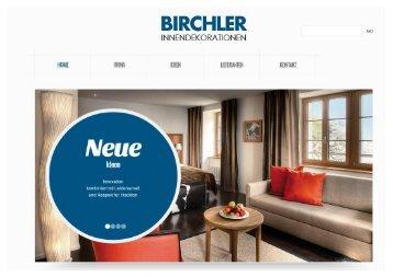 Birchler magazine for Innendekoration meggen