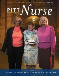 making a difference through leadership - School of Nursing