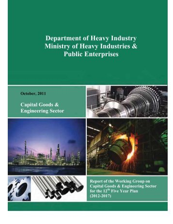 Department of Heavy Industry Ministry of Heavy Industries & Public ...