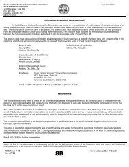 Irrevocable Letters of Credit - Workers Compensation Commission