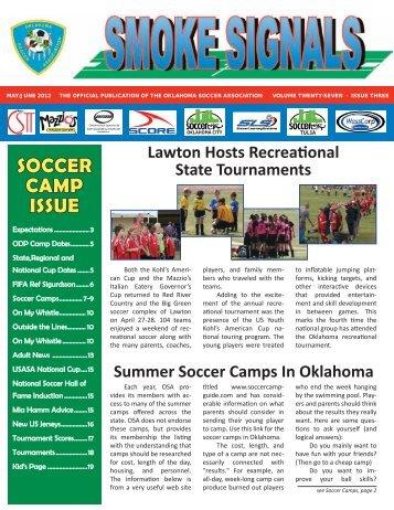 Smoke Signals May/June - Oklahoma Soccer Association