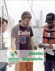 Boletín estadístico marzo - Observatorio de Migraciones