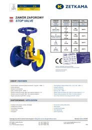 Data Sheet ventile Zetkama V215 from CINTO (distributor and ...