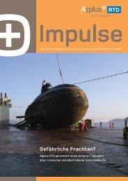 Kostenein- sparungen im Offshore-Bereich — über und unter Wasser