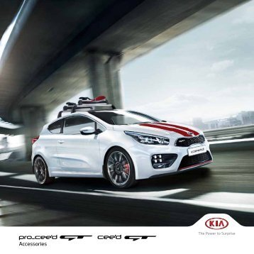 Kia pro-cee'd GT and cee'd GT Accessories