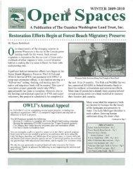Restoration Efforts Begin at Forest Beach Migratory Preserve ...