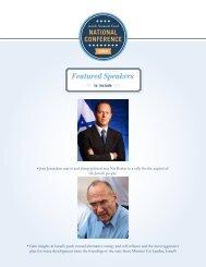 Featured Speakers - Jewish National Fund
