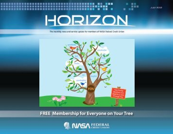 FREE Membership for Everyone on Your Tree - NASA Federal ...