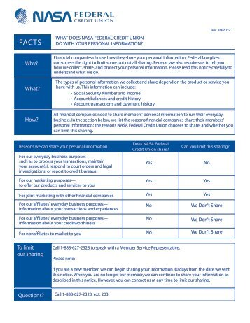 Remote Deposit FAQs - NASA Federal Credit Union