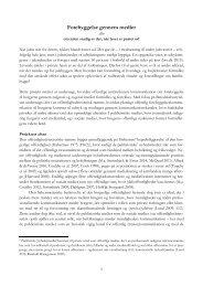 Ph.d.-projektbeskrivelse - Forebyggelse gennem medier