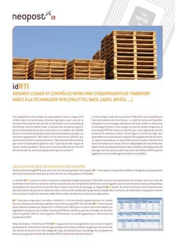 Brochure idRTI - FR - Oct 2009.pdf - Neopost ID