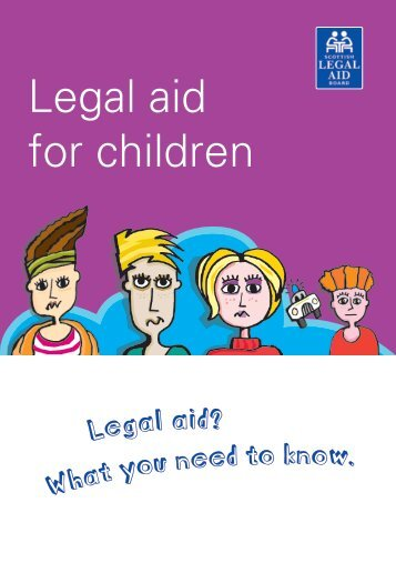 SLAB 08 Childrens - Scottish Legal Aid Board