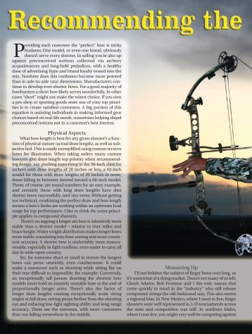 Physical Aspects Measuring Up - Arrow Trade Magazine!