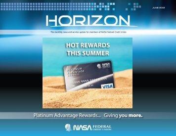 HOT REWARDS THIS SUMMER - NASA Federal Credit Union