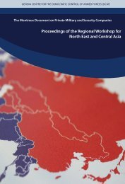 Proceedings of the Regional Workshop for North East and Central Asia