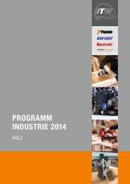 PROGRAMM INDUSTRIE 2014