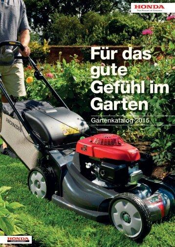 Honda Garten Katalog 2015