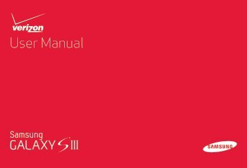 User Manual Manual - Verizon Wireless