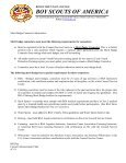 Rocky Mountain Council Merit Badge Counselor Registration Form - Page 2